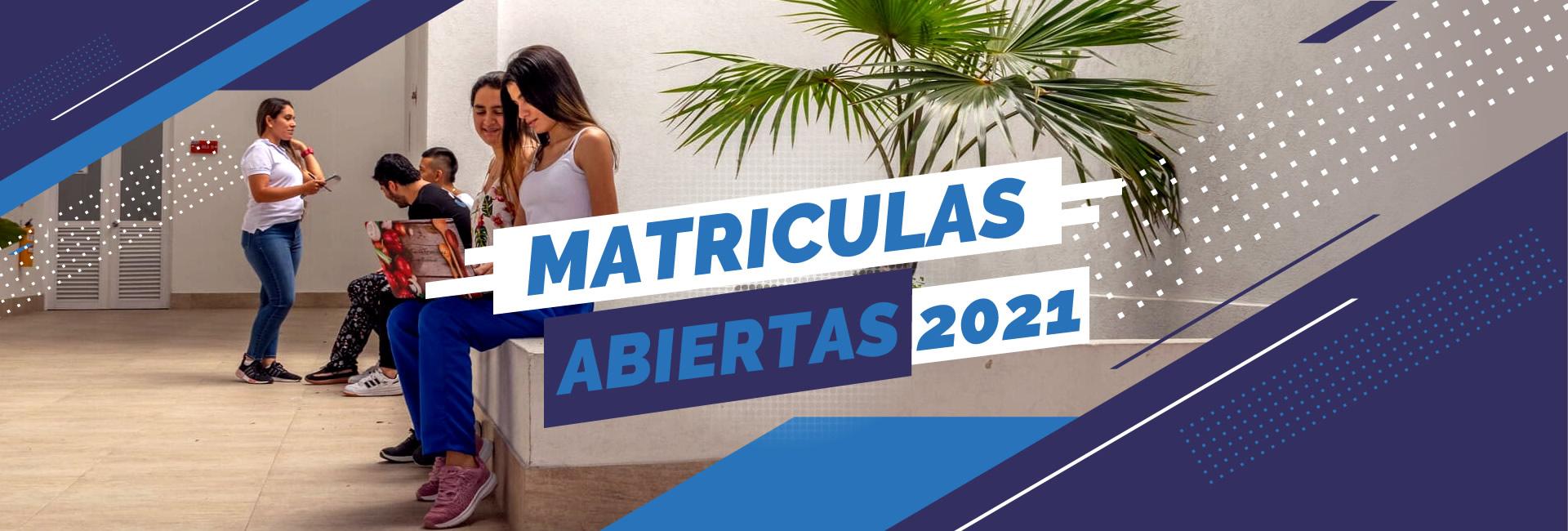 Matriculas 2021