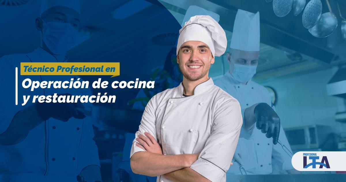 Técnico Profesional en Operación de Cocina y Restauración